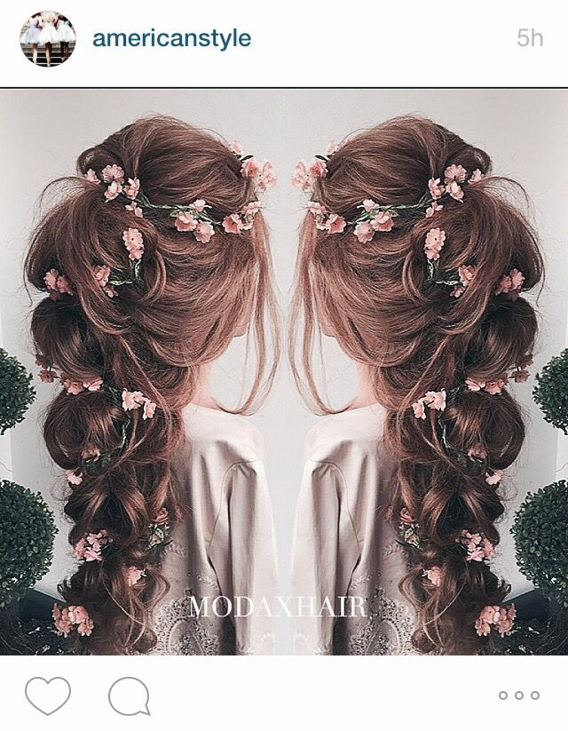 This. This is perfection. If I get married, my hair will looks exactly like this. #modaxhair