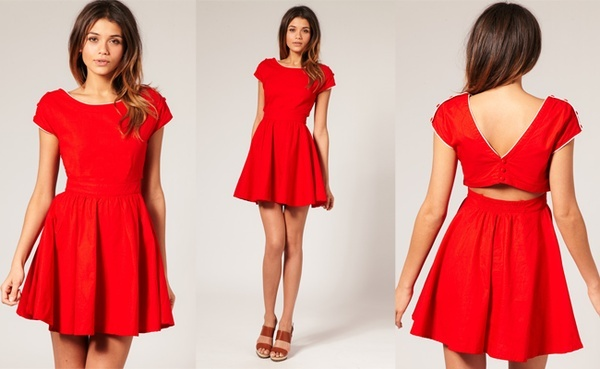 Little red dress. Perfect Christmas party dress  F A N C Y ...