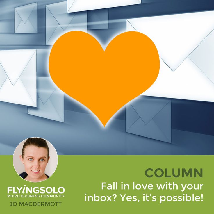 Email is a seemingly constant source of frustration and irritation for soloists but it doesn't have to be that way. Here's how I banished my negative email attitudes and learned to love my inbox.