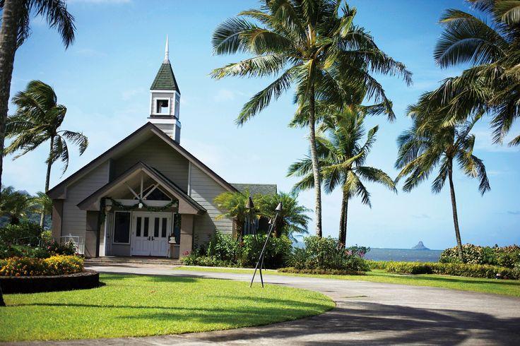 アロハ・ケ・アクア・チャペル #HAWAII WEDDING