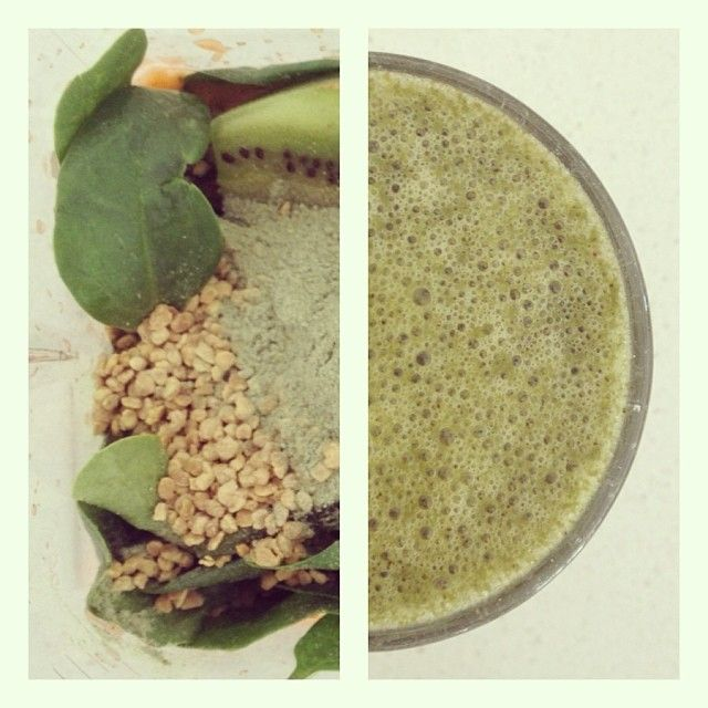 Go Green: juice gigner, carrot and apple, pour into blencer and add spinach, kiwi, spirulina and bee pollen.  #supersmoothie #superpower #superfood #smoothie #powershake #health #wellness #fruits #omniblend #omniblendaustralia #blendit #mkr #mykitchenrules #creativekitchen #detox #fresh #healthkick #kickstart #greensmoothie #beepollen #spinach #ginger #carrot #kiwi