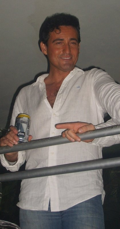 CARLOS (GRUPO IL DIVO ) A beautiful, kind, charming man!! Carlos Marin!! Susan Ansley here in New Zealand.