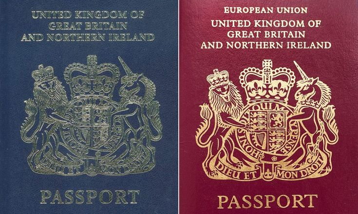 CONFIRMED: British passport will return to blue after #Brexit #Andalucia #Gibraltar