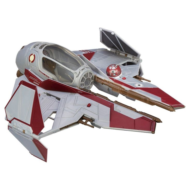 Star Wars Obi-Wan's Jedi Starfighter Vehicle