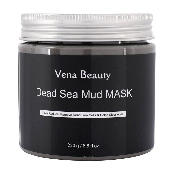 Masque de boue de la mer Morte pour le traitement du visage - Meilleur démaquillant pour la peau, Réducteur de pores et Minimiseur par Vena Beauty 8.8 fl oz: Amazon.fr: Beauté et Parfum