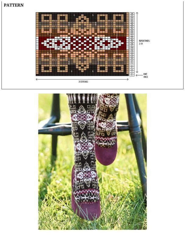 Selbustrikk+S.Anderson-Freed Colorwork Creations: 30 Patterns to Knit Gorgeous Hats, Mittens and Gloves+Swedish Handknits knit_25_224