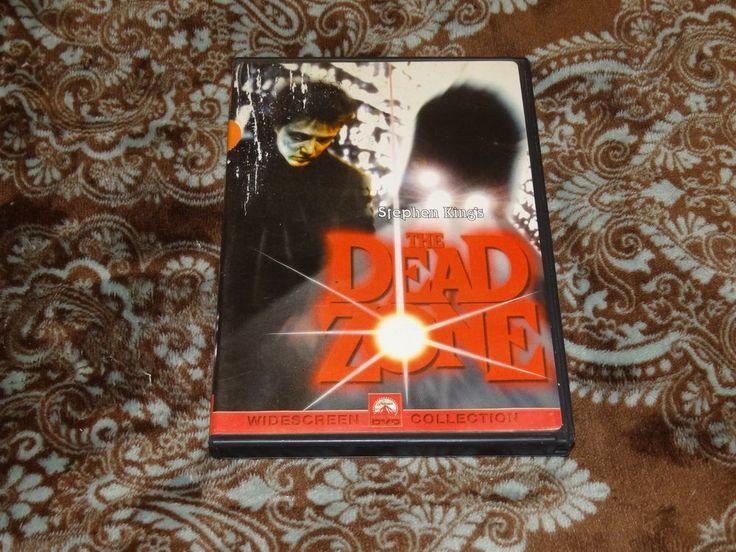 The Dead Zone (DVD, 2000, Sensormatic) Cult David Cronenberg/Christopher Walken!