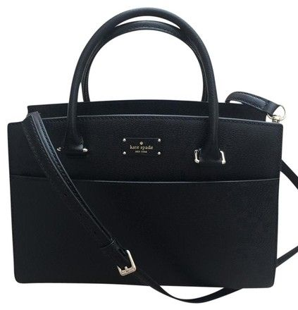 Kate Spade Grove Street Caley Wkru4257 Black Leather Satchel. Save 45% on the Kate Spade Grove Street Caley Wkru4257 Black Leather Satchel! This satchel is a top 10 member favorite on Tradesy. See how much you can save