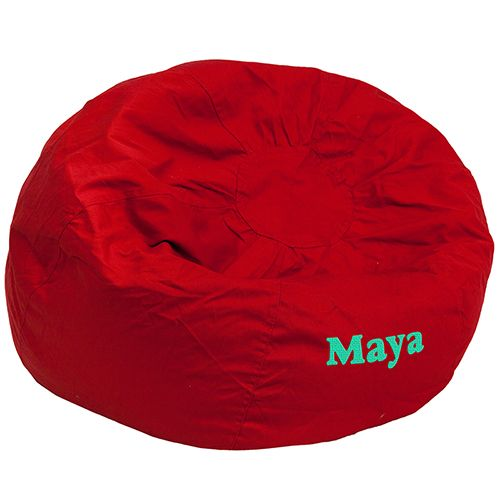 The Oversized Bean Bag Chair Adds Soft Seating To Your Bedroom Dorm Room Or Family Without Taking Up Too Much Space It Features A Comfortable