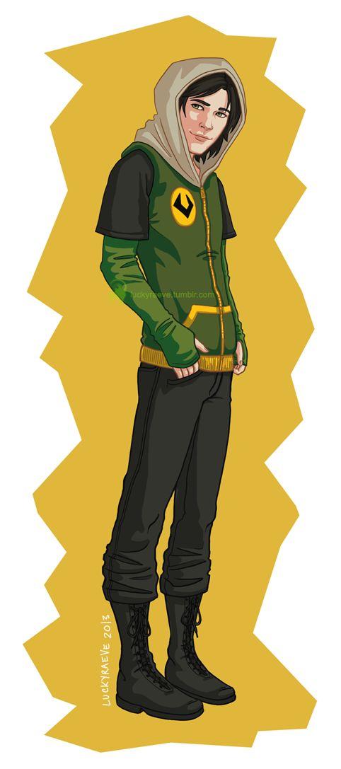 Midgardian Fashion Kid Loki By *luckyraeve On DeviantART