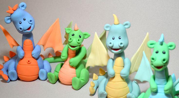 spatulasisterhood: Dave the Dragon Tutorial