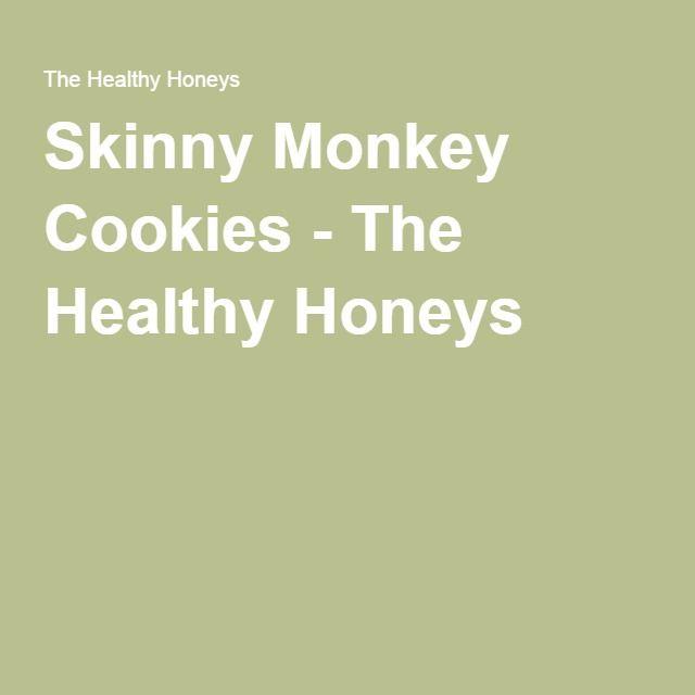 Skinny Monkey Cookies - The Healthy Honeys
