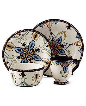 vida by eva mendes dinnerware amalfi 4 piece place setting casual dinnerware dining u0026 macyu0027s