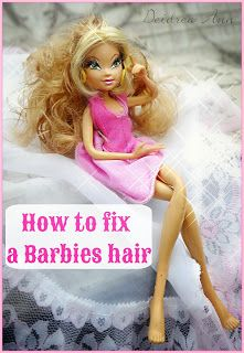 25 best ideas about barbie hair fix on pinterest barbie doll house fix doll hair and doll. Black Bedroom Furniture Sets. Home Design Ideas
