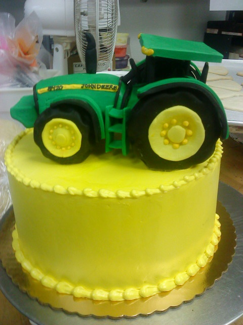 Fondant Tractor Cake Ideas And Designs