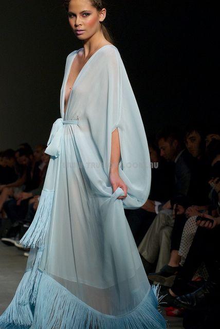 Blue Lingerie Robe (designer Ms. Couture).