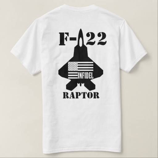 (HB F-22 Infidel T Shirt) #Aircraft #Aviation #F22 #Hammerbros #Military #Raptor is available on Funny T-shirts Clothing Store   http://ift.tt/2d5mSOR