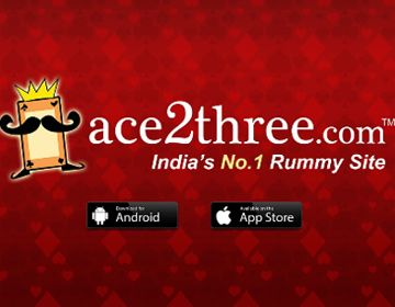 Aces2three.com India No. 1 Rummy Site : Get 100% Bonus to Pay Rummy Online. This offer is specially for New Ace2three users. Get extra Paytm Cashback on Deposit Money in Wallet via Paytm.