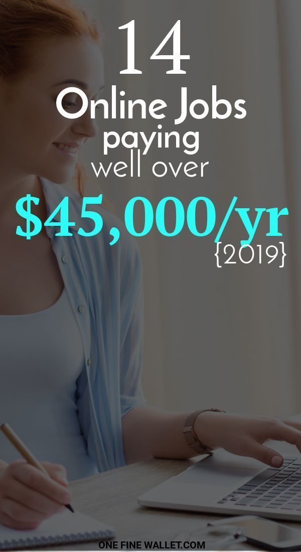 14 High Paying Online Jobs from Home {2019} – over $45,000/mo If you are looking… – ckalimah.tauhidi