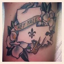louisiana tattoo designs - Google Search