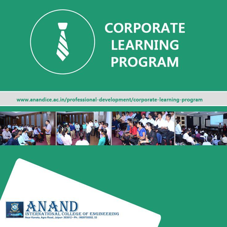Corporate Learning Program #CLP #AnandICE #CollegesinJaipur http://goo.gl/Zqd8rh  http://goo.gl/e3Kpqf