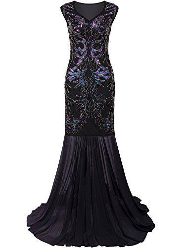 Vijiv 1920s Long Prom Dresses V Neck Beaded Sequin Gatsby... https://www.amazon.com/dp/B01MQ0AZFR/ref=cm_sw_r_pi_dp_x_dCGBybQDCH04Q