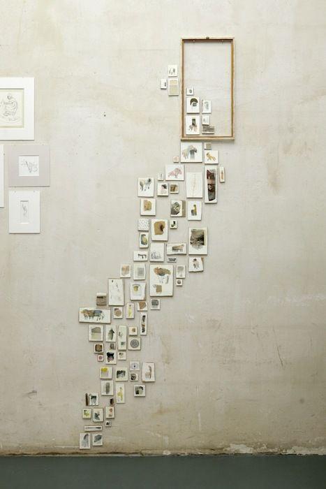 Wall Art || trailing photos