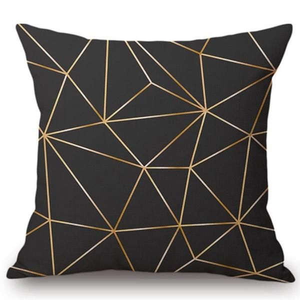Copper and High Black Cushion Cover – cushioncoverstore