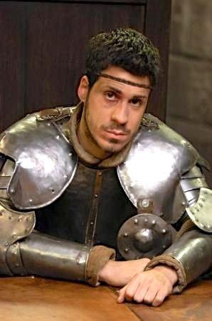 Yvain, chevalier au Lion, frère de Guenièvre, (mais, dans la vie réelle, c'est le frère du comédien qui incarne Arthur).