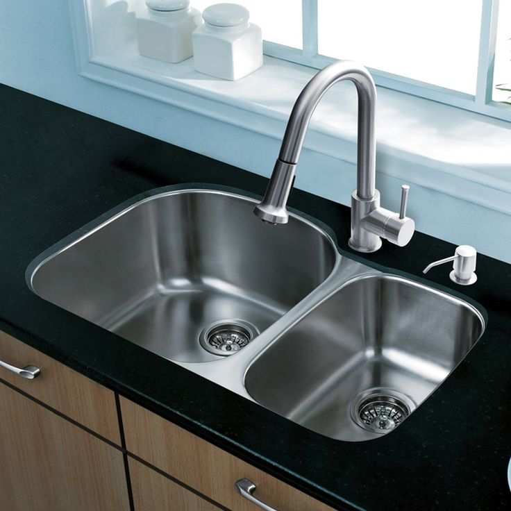 31 Inch Undermount 70 30 Double Bowl 18 Gauge Stainless Steel Kitchen Sink With Harrison