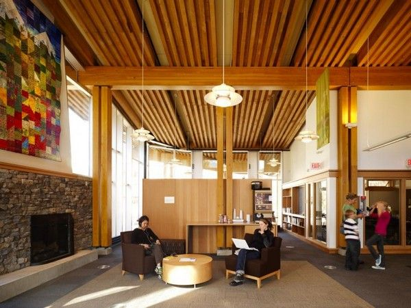Community Living Room, Whistler Public Library