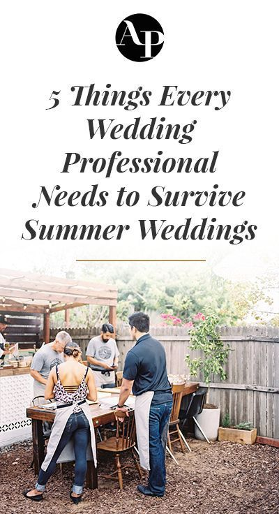 707dc3ea09f 5 Things Every Wedding Planner Should Own to Survive a Summer ...