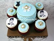 Cupcake Redvelvet - Breakfast at Tiffany's