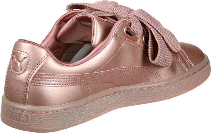 Puma Schuhe Basket Heart Copper W Damen Altrosa Grosse 39 In 2020 Mit Bildern Puma Schuhe Schuhe Puma