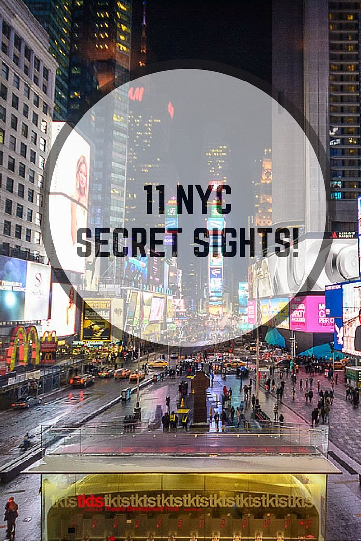 11 New York hidden gems for when you've seen it all before!