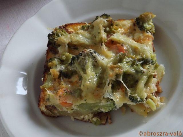 Brokkolis teli-tál