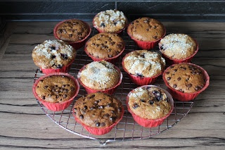 Bosbessen & Chocolate Chip Muffins