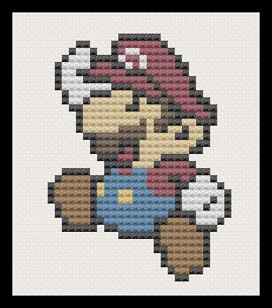 Mario au point de croix