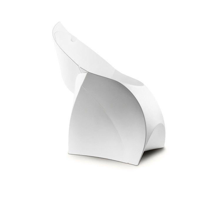 FLUX | Flux Junior Chair in Pure White - Furniture - 5rooms.com