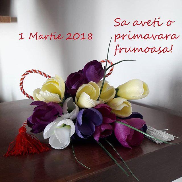 Va Doresc O Primavara Inflorita 2018 1martie2018 Martisor