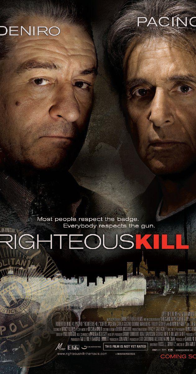Directed by Jon Avnet.  With Robert De Niro, Al Pacino, Carla Gugino, 50 Cent…
