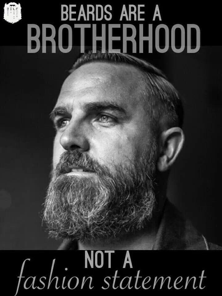 Beards #brotherhood - http://www.mensmodernhairstyles.com/beards-brotherhood