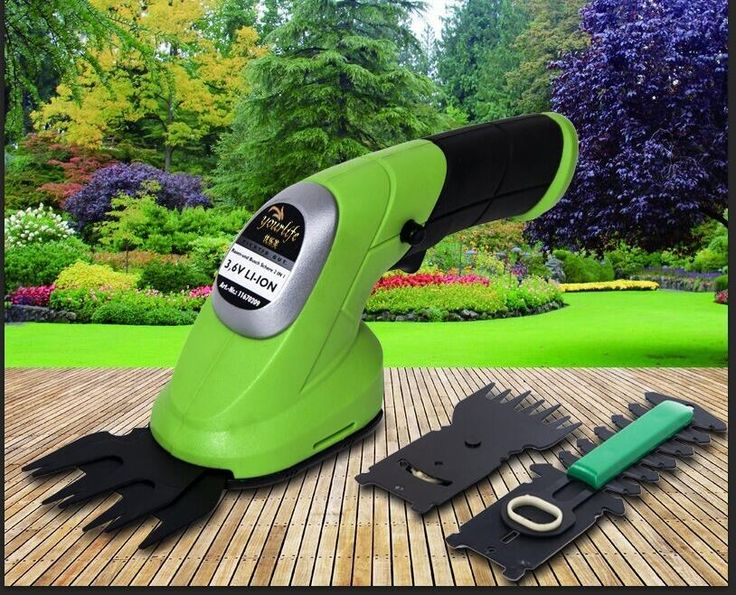 Portable garden power tools 3.6V 2 IN 1 Combo Lawn Mower Li-Ion Rechargeable Hedge Trimmer Grass Cutter Cordless