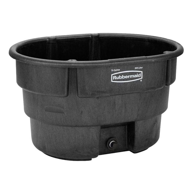 Rubbermaid commercial products 70 gal stock tank