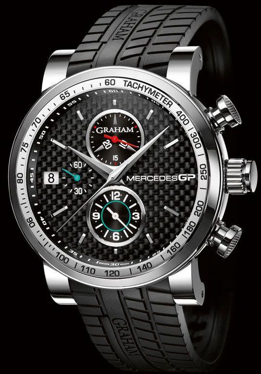 graham watches | Meet Graham London Mercedes GP Silverstone Watch Watches Channel