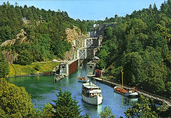 Götakanal, Sweden - going here this summer!