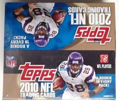 2010 Topps NFL Football Factory Sealed HUGE 24 Pack Retail Box with 288 Cards !! Look for Rookie Cards and Rare Autographs from all the Top 2010 NFL Draft Picks including Tim Tebow and Sam Bradford ! . $29.99. Wowzzer!! Check out this Hot Topps NFL Release featuring Possible TIM TEBOW Rookie and Autographs!! We are Proud to offer This Awesome Original Factory Sealed Box of the Super HOT 2010 Topps NFL Football *** This is for a 2010 Topps NFL Football Factory Sea...