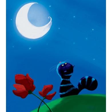 The Cat & the Moon - Alessia Girasole