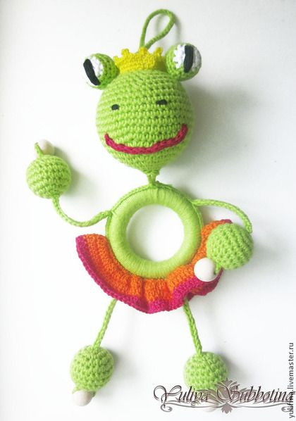 слинго Лягушка-Царевна - зелёный,детское,детям,слингоигрушка,слинго игрушка