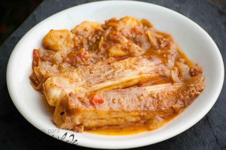 Receta sana y sabrosa de un pescado muy apreciado en la gastronomía gallega, la raya.